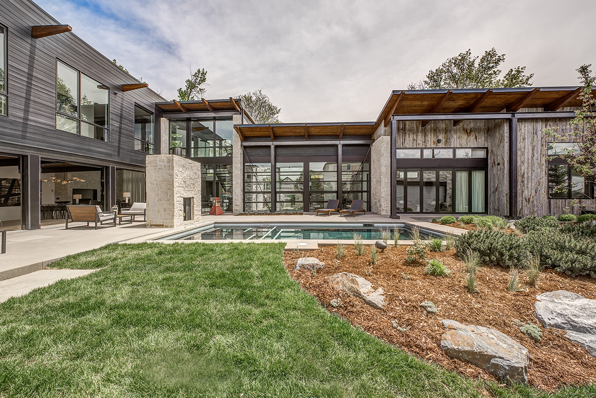 A Modern Home Rises In Denver S Cherry Creek Neighborhood