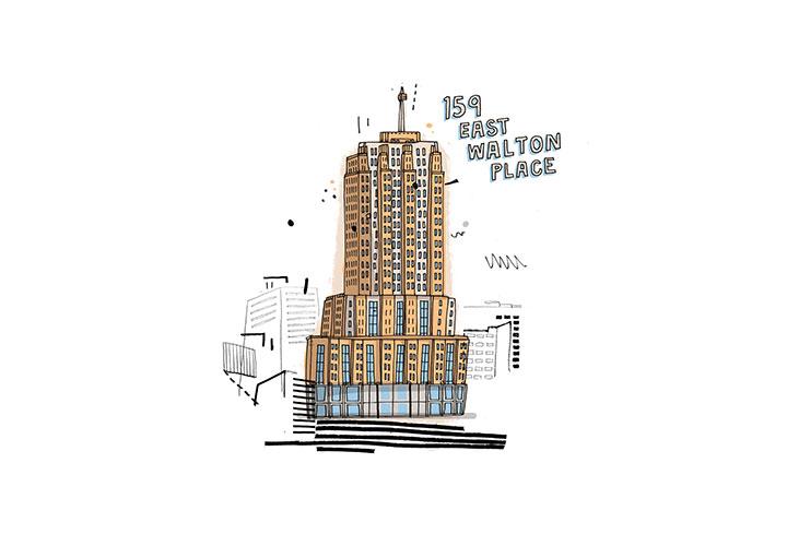 159 East Walton Place, Chicago - De propiedad del actor Vince Vaughn, este 'penthouse' de cinco dormi