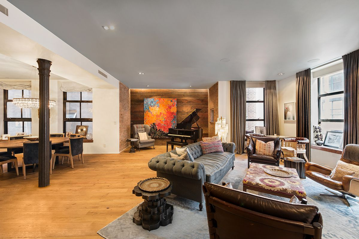 Chrissy Teigen and John Legend's recently sold NoLiTa loft