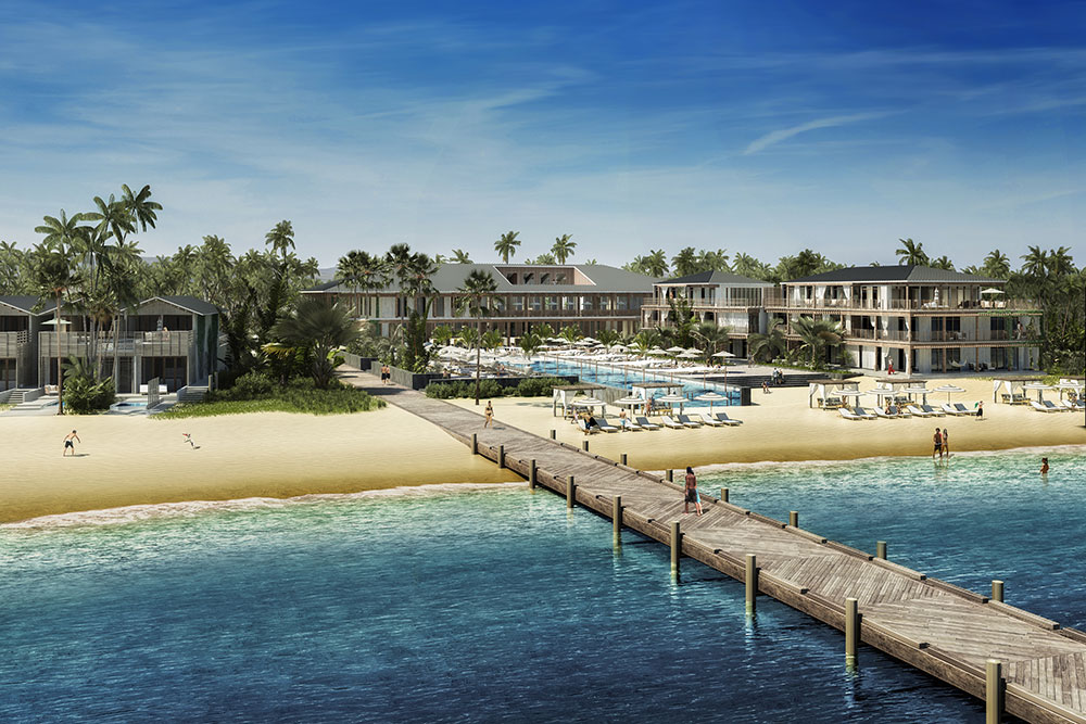 Residents of Itz'ana will enjoy a private bar, a full service marina, a rooftop yoga deck, a water sp