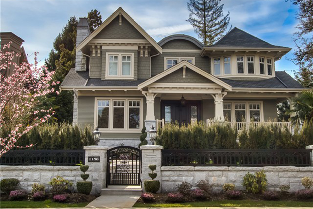 Interest from China has fueled demand for luxury homes in Vancouver. This seven-bedroom house is on s