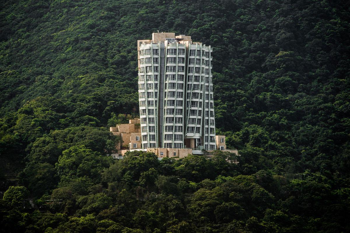 图为傲璇住宅项目,拍摄于项目竣工的2012年。