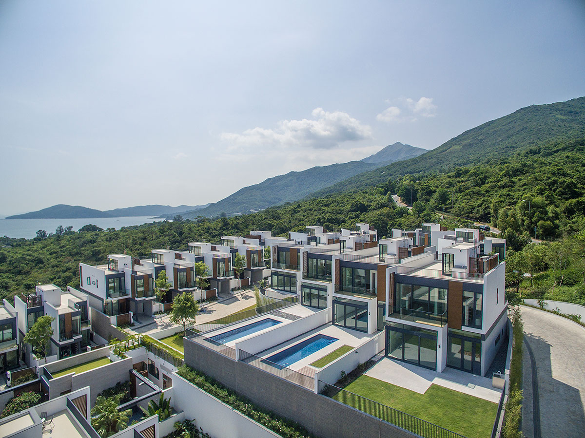 The Whitesands development on southern Lantau island.