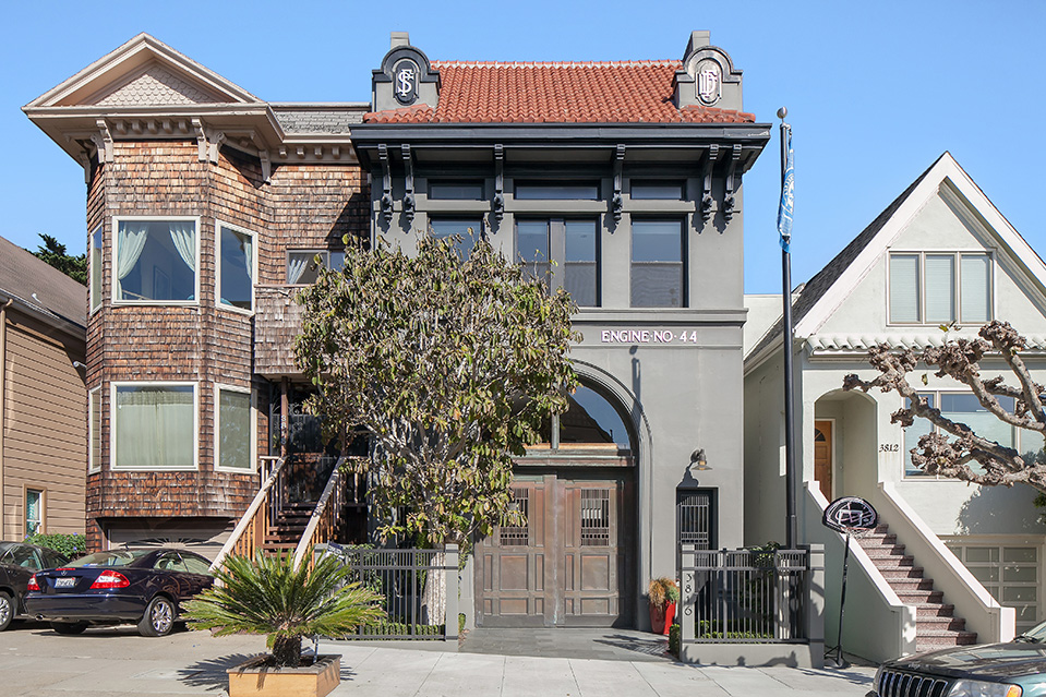 Listing Of The Day A Former Firehouse In San Francisco
