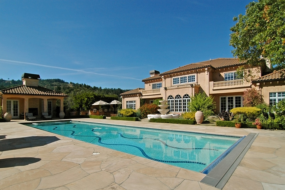 listing of the day a napa valley wine estate mansion global
