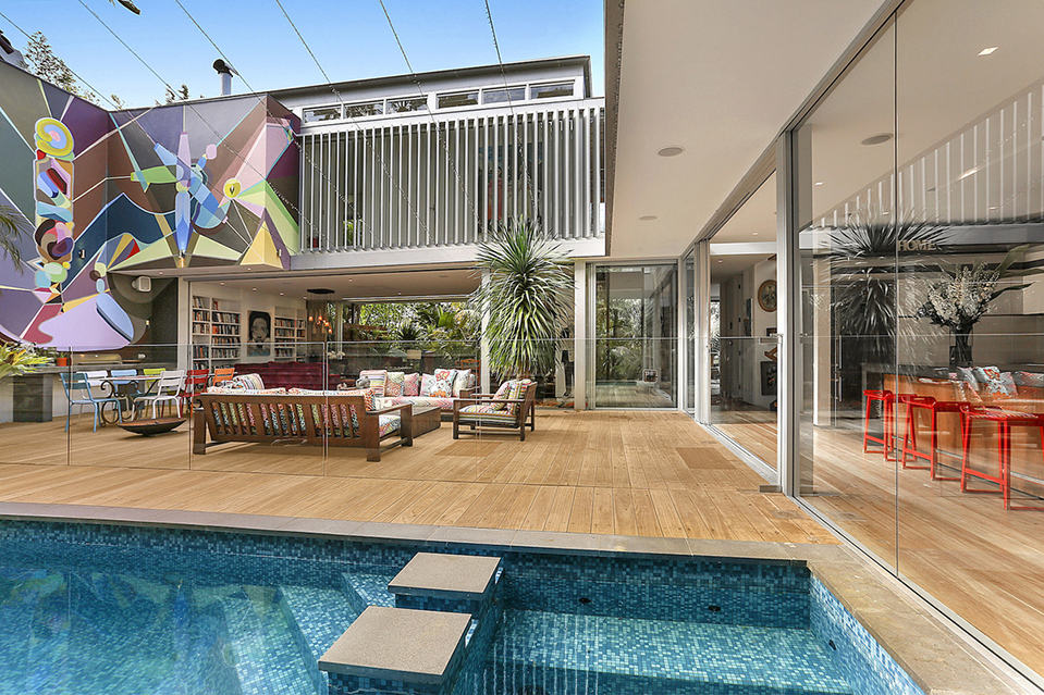 Listing of the day a breezy oasis in sydney s eastern for Pool show 2015 sydney