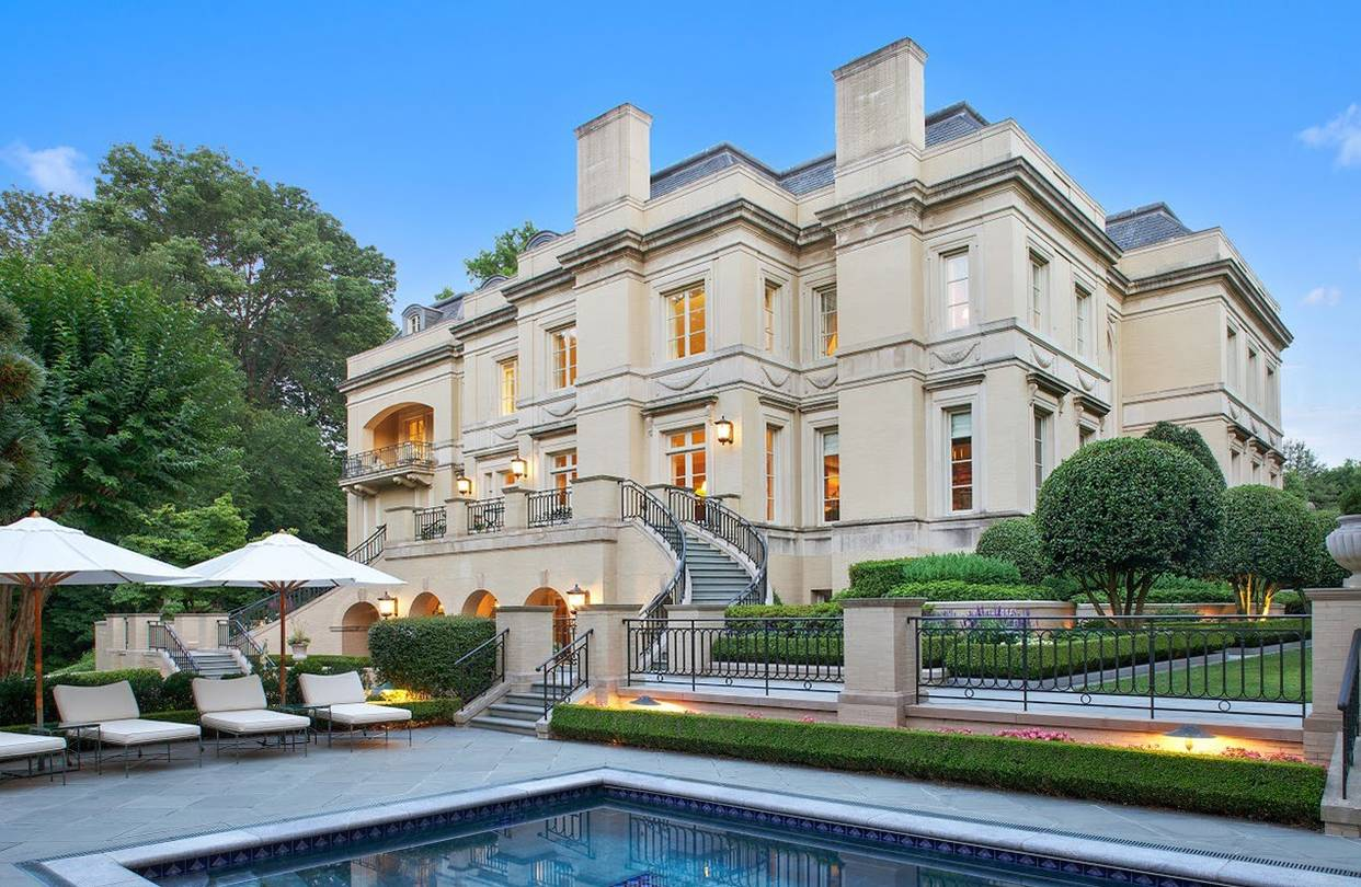 washington d c mansion sells for a record 18 million