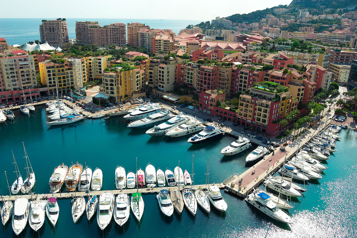 Monte Carlo remains an important hub of the yachting world.