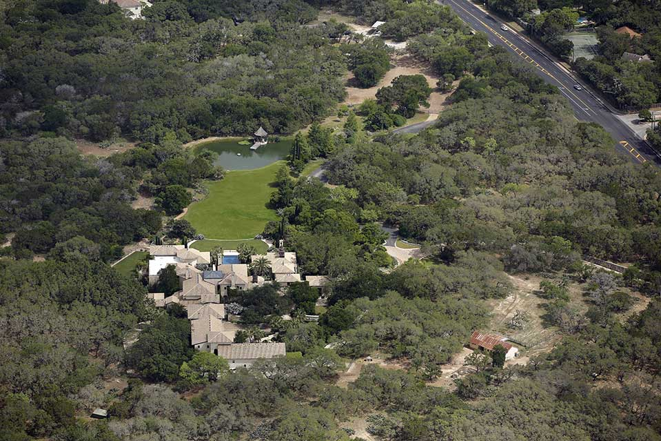 The estate sits on 29 acres in Texas Hill Country.