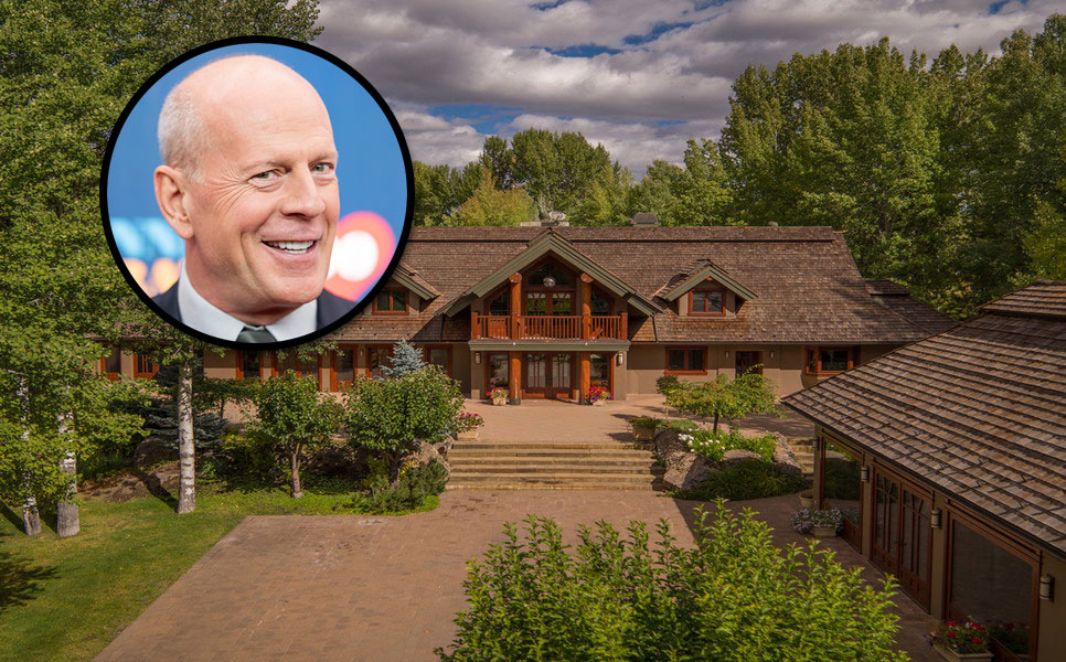 Trying Hard: Bruce Willis's Idaho Ranch Back on the Market With A Sixth Price Cut