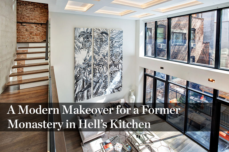 A Sleek As Can Be SoHo Loft in a Former Tootsie Roll
