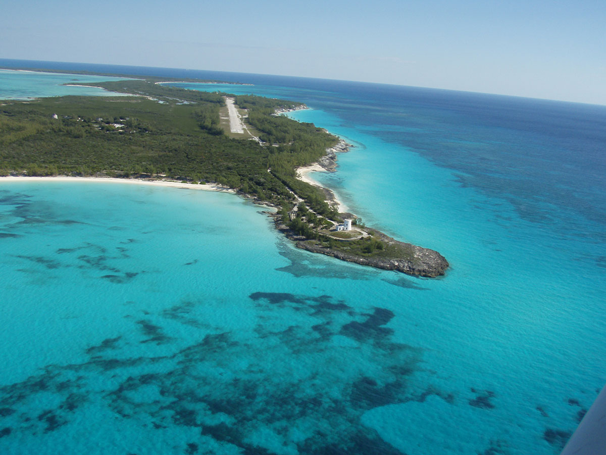 """Great Whale Cay, located in the Berry Islands of the Bahamas, once belonged to Marion """"Joe"""" Carstairs"""