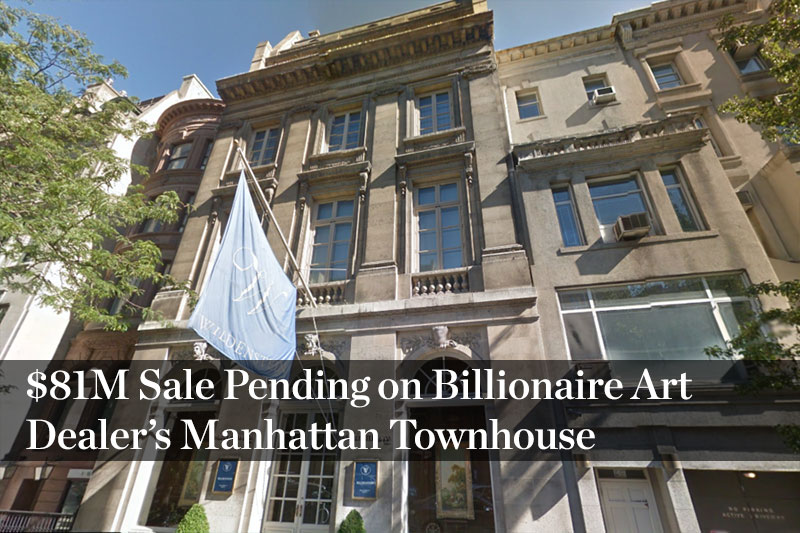 Historic manhattan townhouse on the market for 72m for Manhattan townhouse for sale