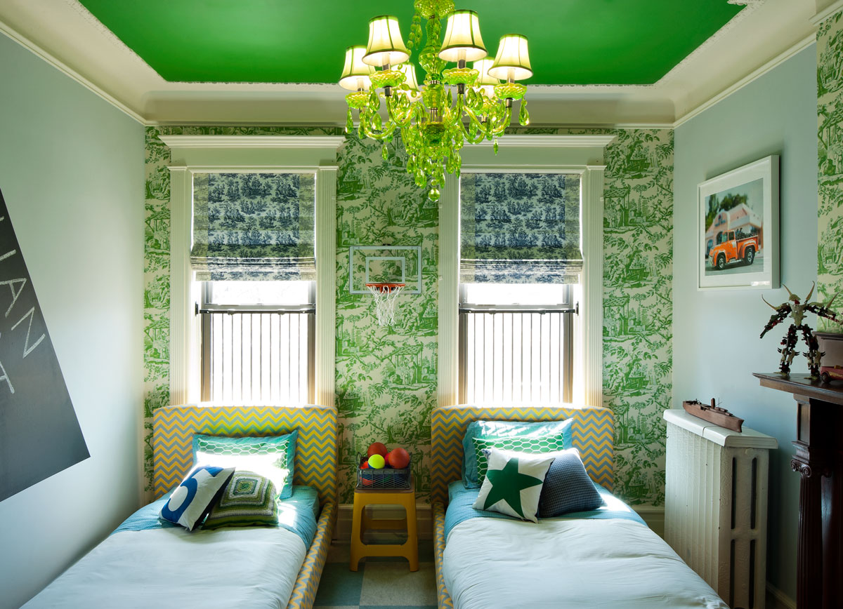 This Childrenu0027s Room In A Brownstone Designed By Cortney And Robert  Novogratz Features A Fun,