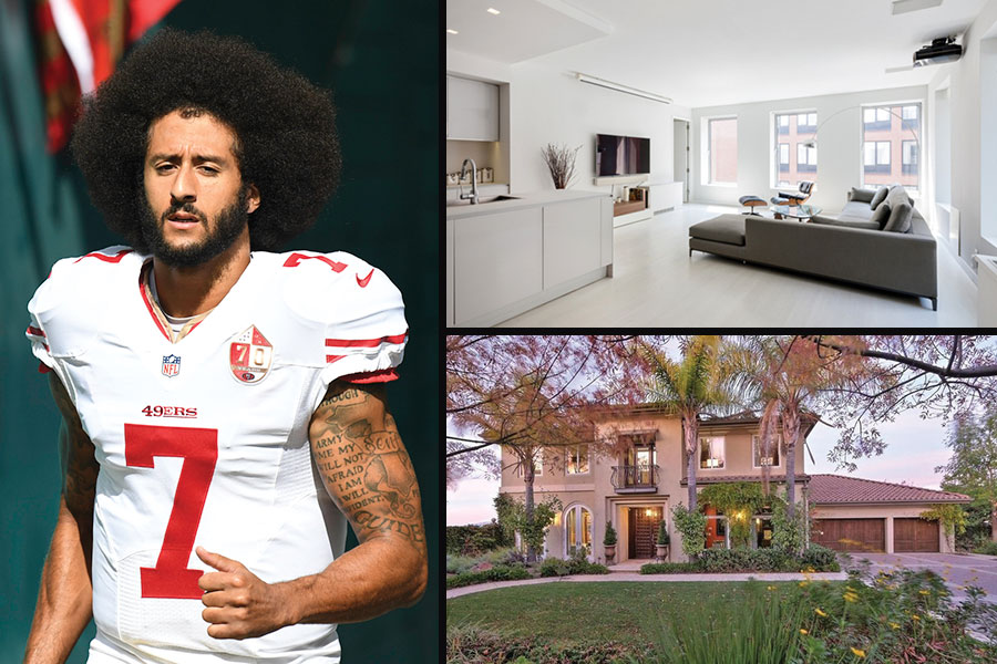 Colin Kaepernick switching coasts? 49er QB buys NYC condo, lists Calif. mansion