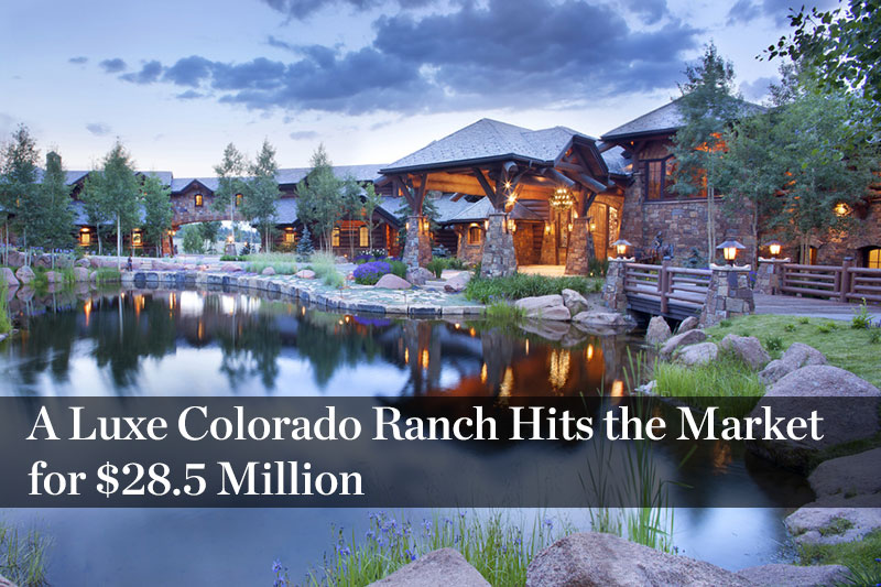 Tom Cruise Takes 59 Million Telluride Home Off The Market