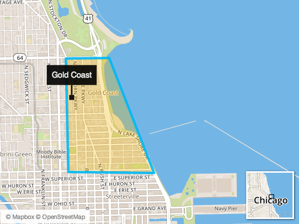 Chicago s gold coast offers bustling city living with a for Gold coast chicago hotels