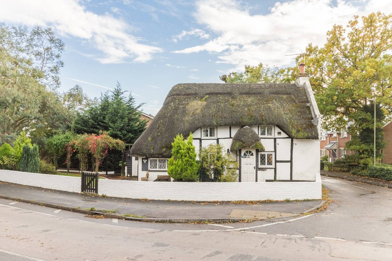 Gingerbread Cottage in the village of Ringwood is listed for $464,000.<br />