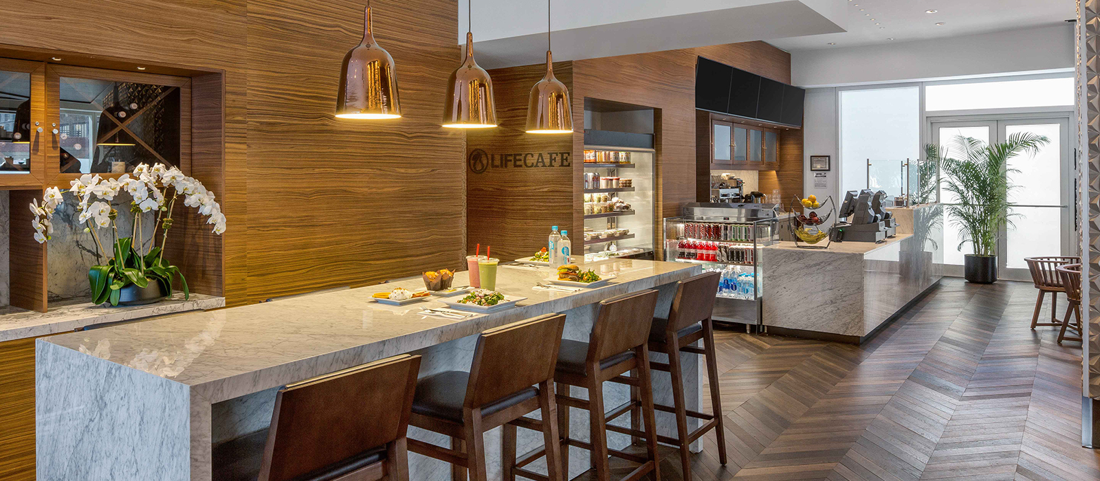 Pictured is the LifeCafe at Sky.
