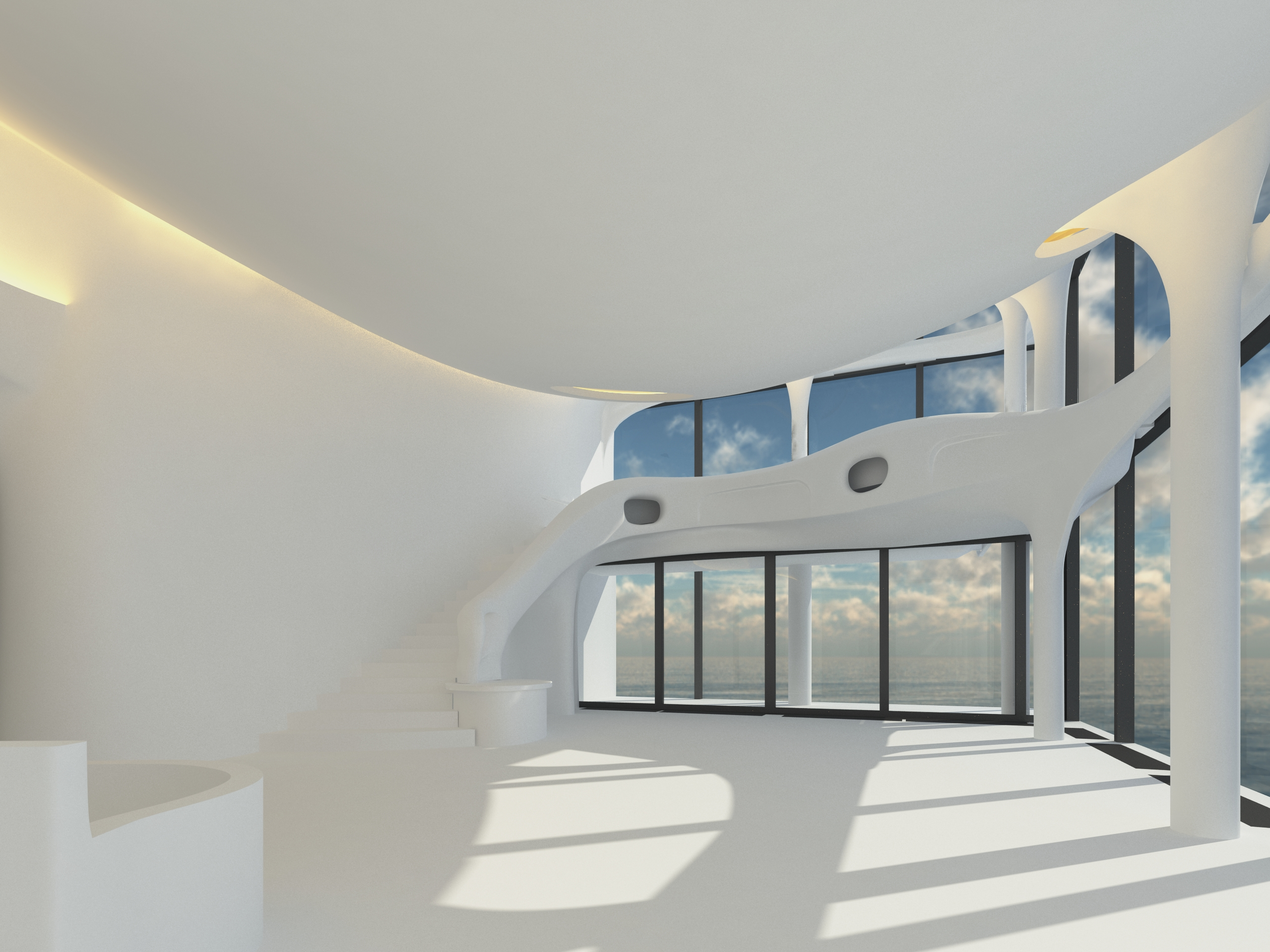 On the 24th and 25th floors of Herzog & De Meuron's acclaimed Elbphilharmonie building in Hamburg, Ge