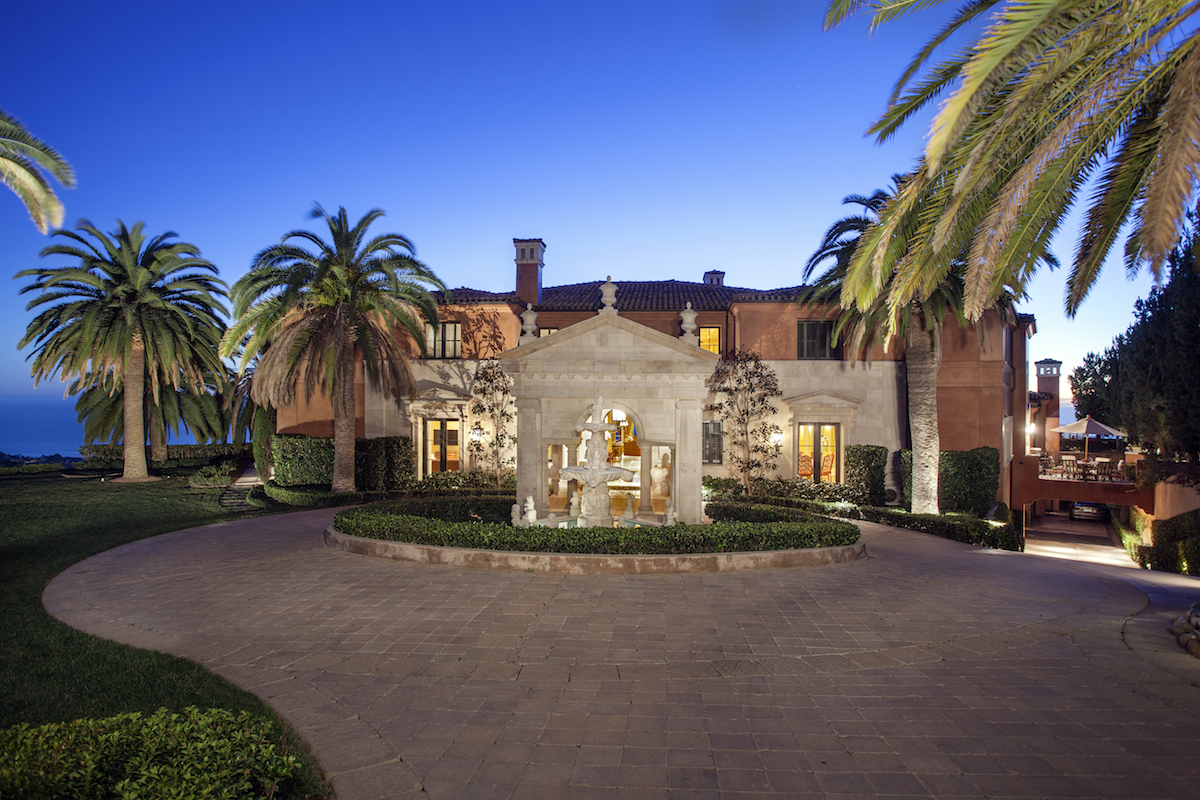 24m home is priciest sale in orange county california for Mansions in orange county