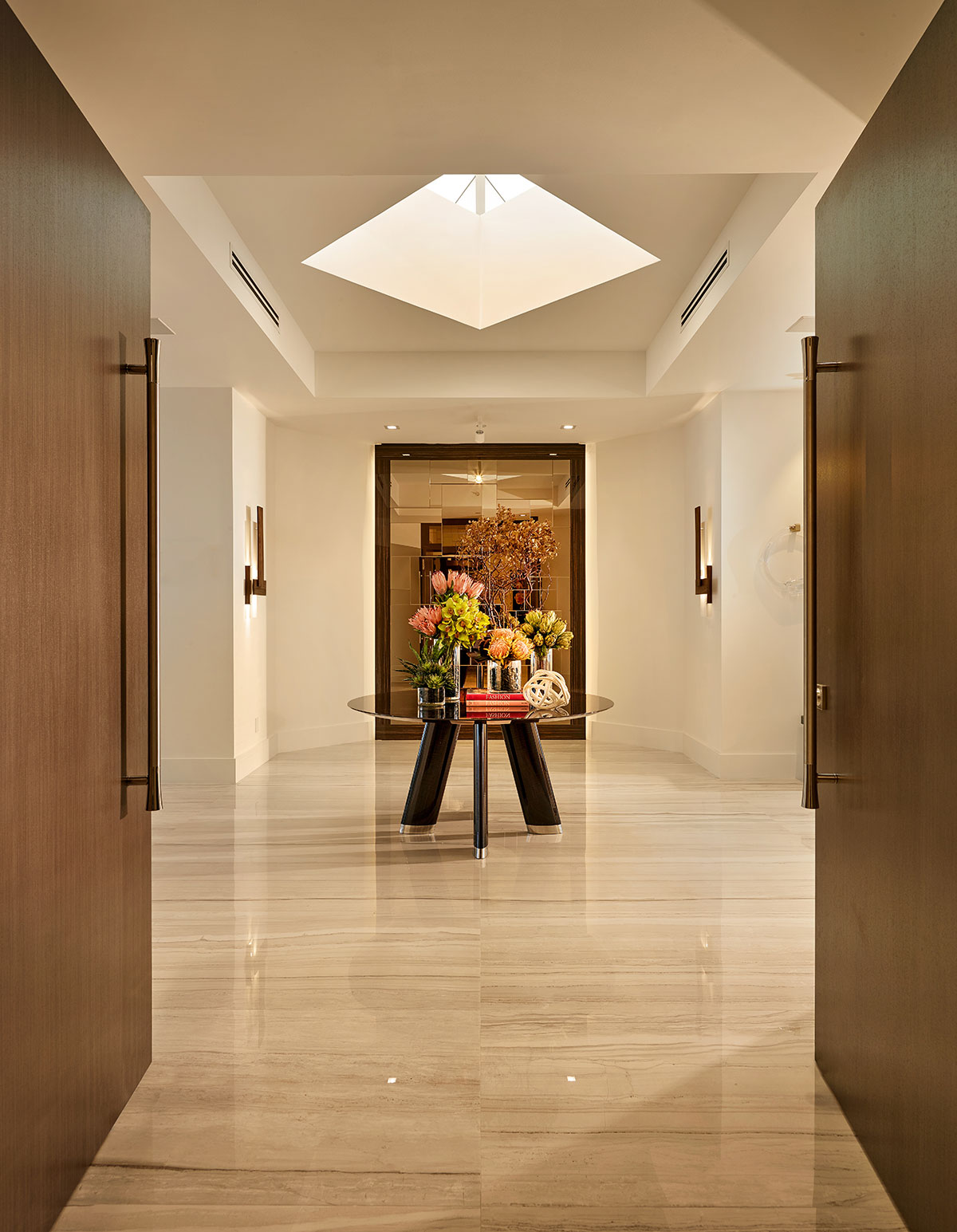 Mansion Foyer : Mansion global staging s a necessary expense when selling