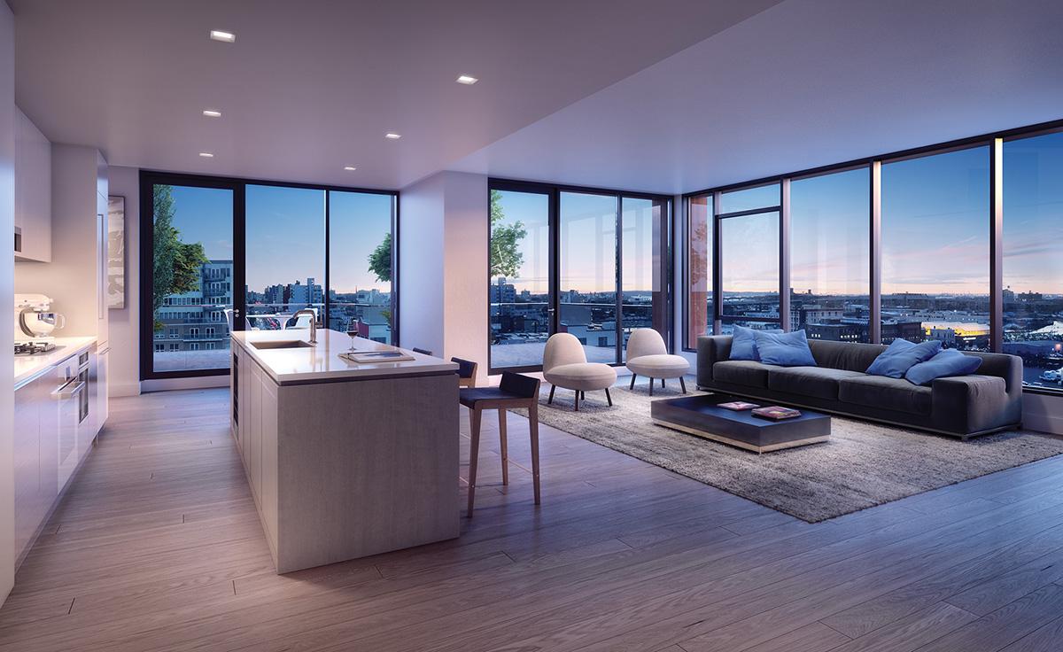 Brooklyn U2019s Luxury Condo Market Sizzles This Summer