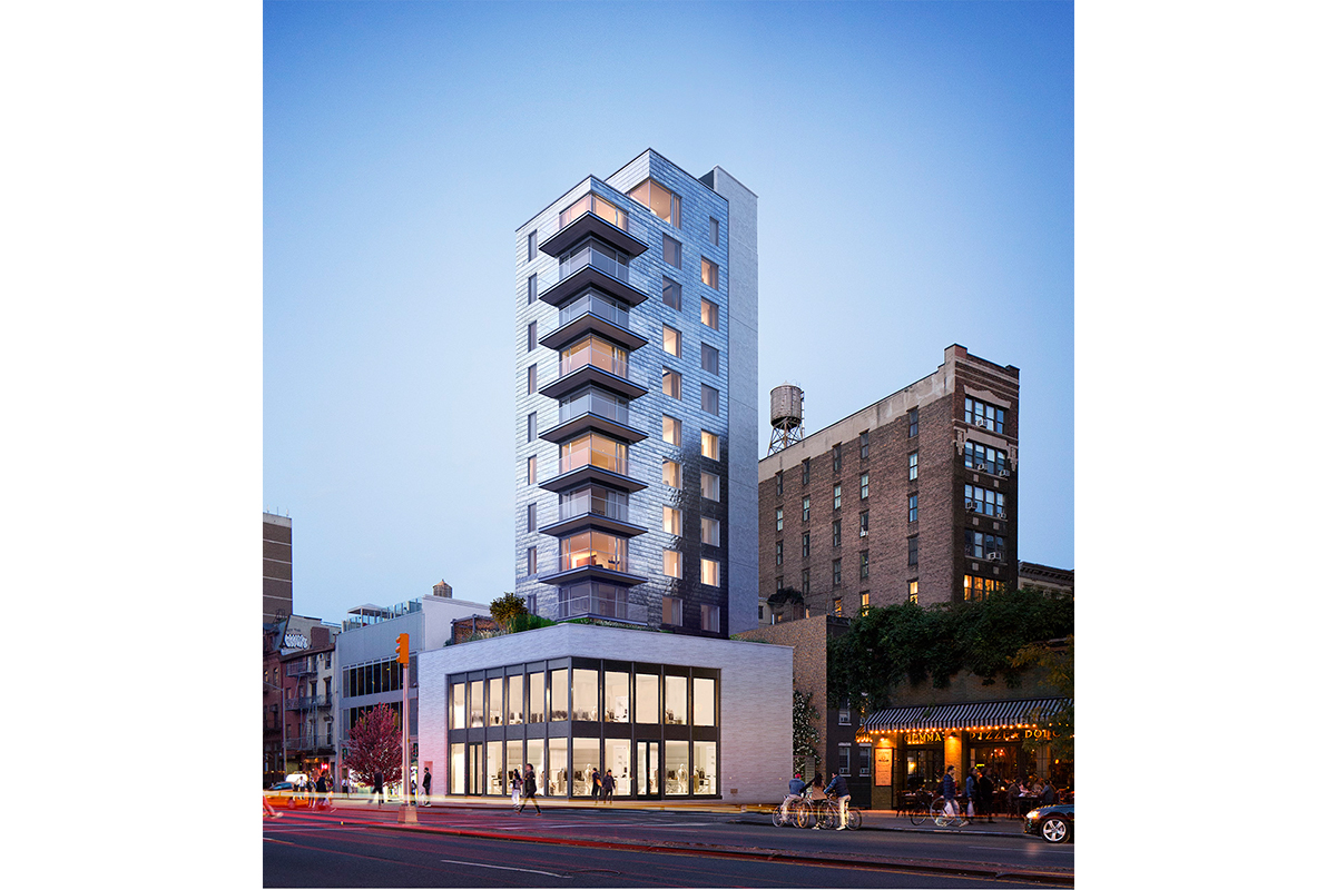 The five-unit condominium 347 Bowery is the latest project from architect Annabelle Selldorf. The zin