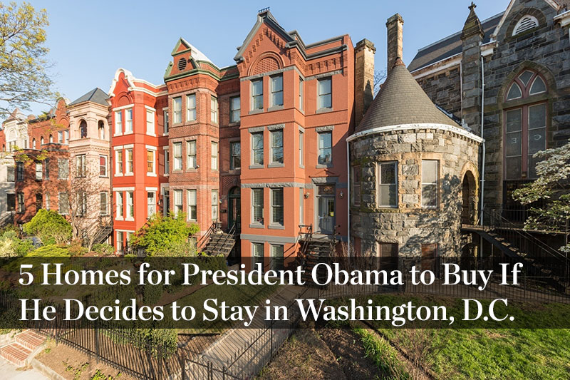 Where does the president live?