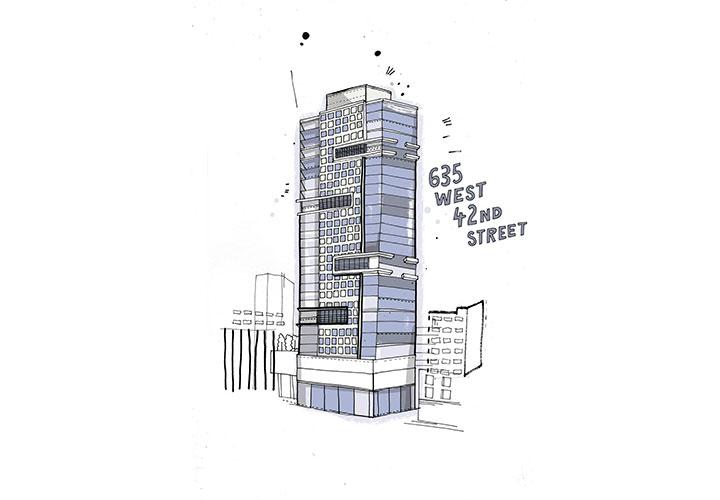 635 West 42nd St., New York - A la venta por US$85 millones, el 'penthouse' de 930 metros cuadrados e