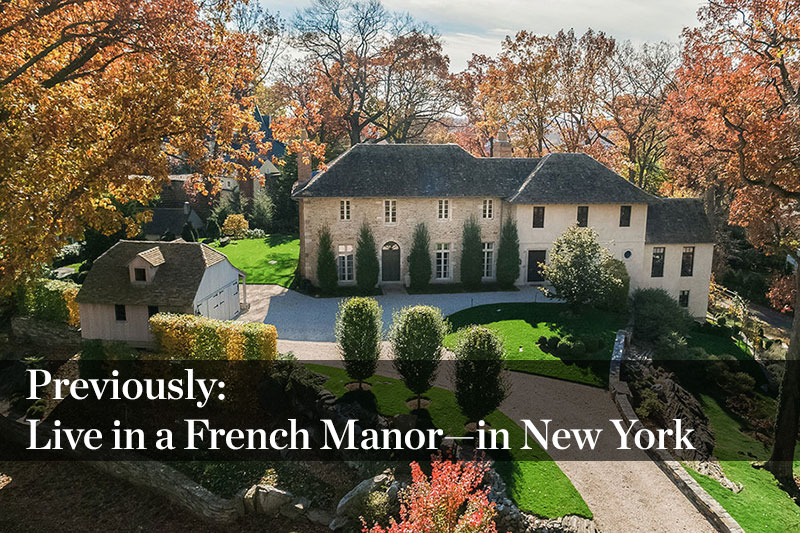 Live in a French Manor—in New York