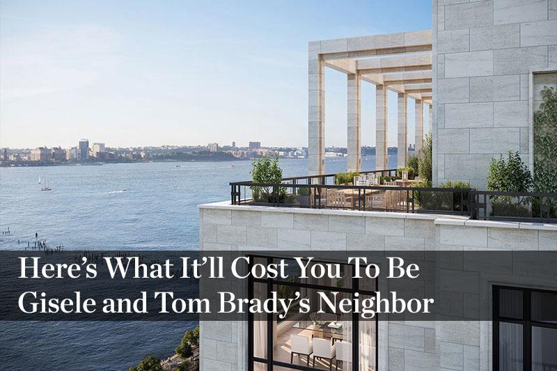 Tom brady and gisele b ndchen list million nyc Tom brady house address
