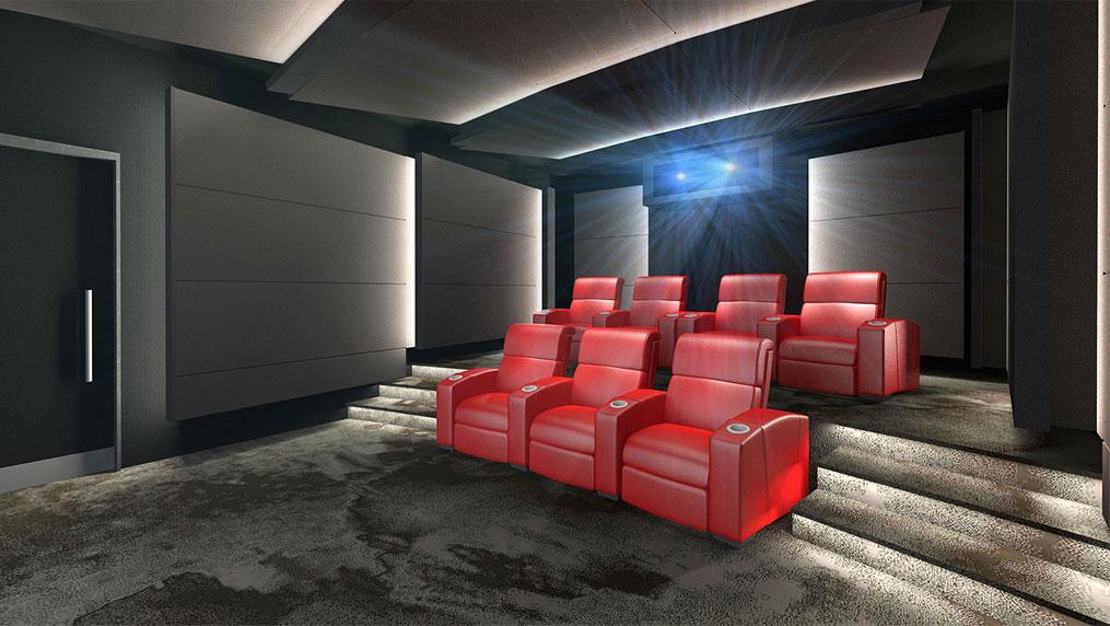 IMAX  Private Theatre - Small Theatre