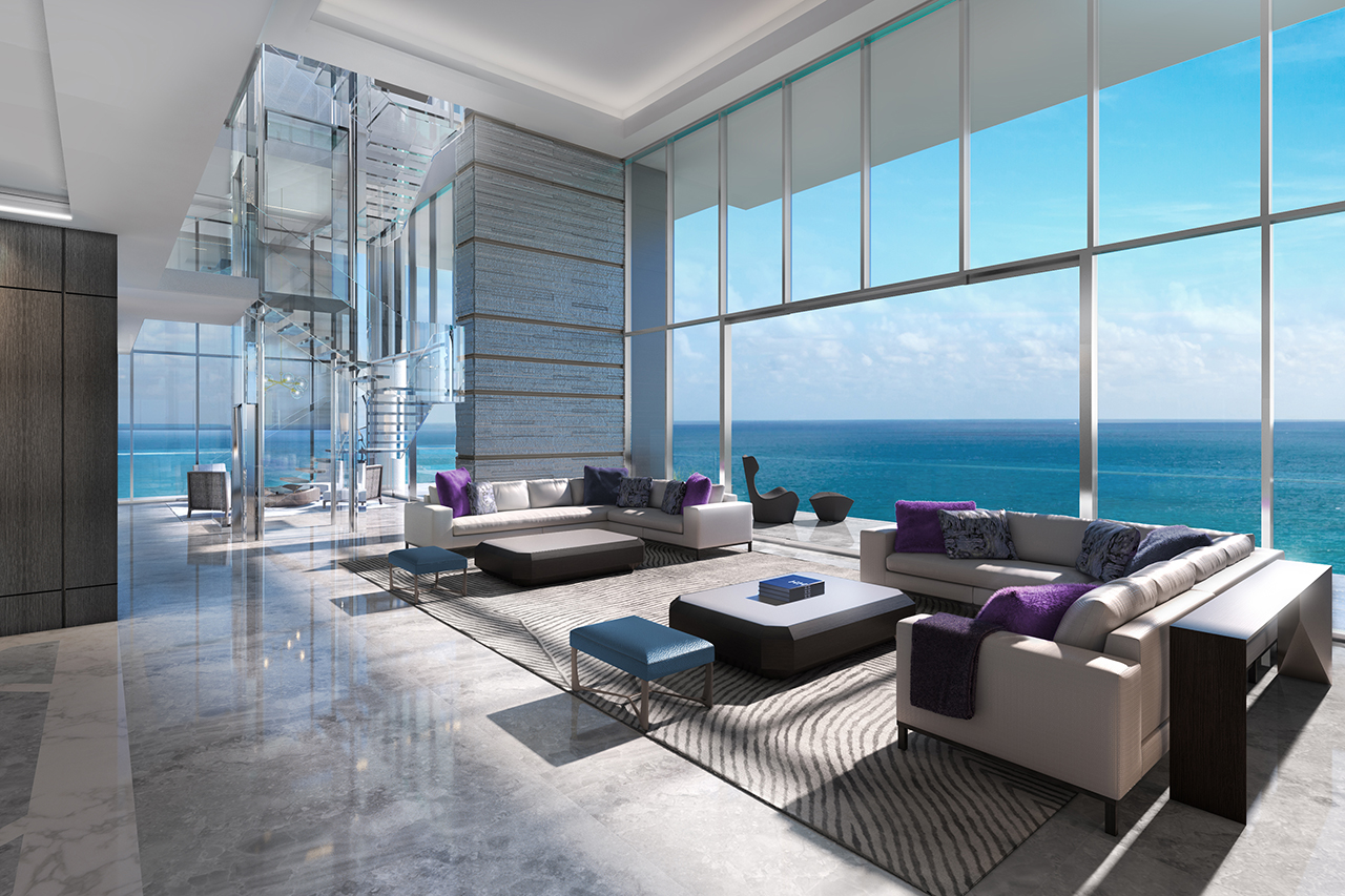 In Miami All Eyes Are On North Beach Mansion Global