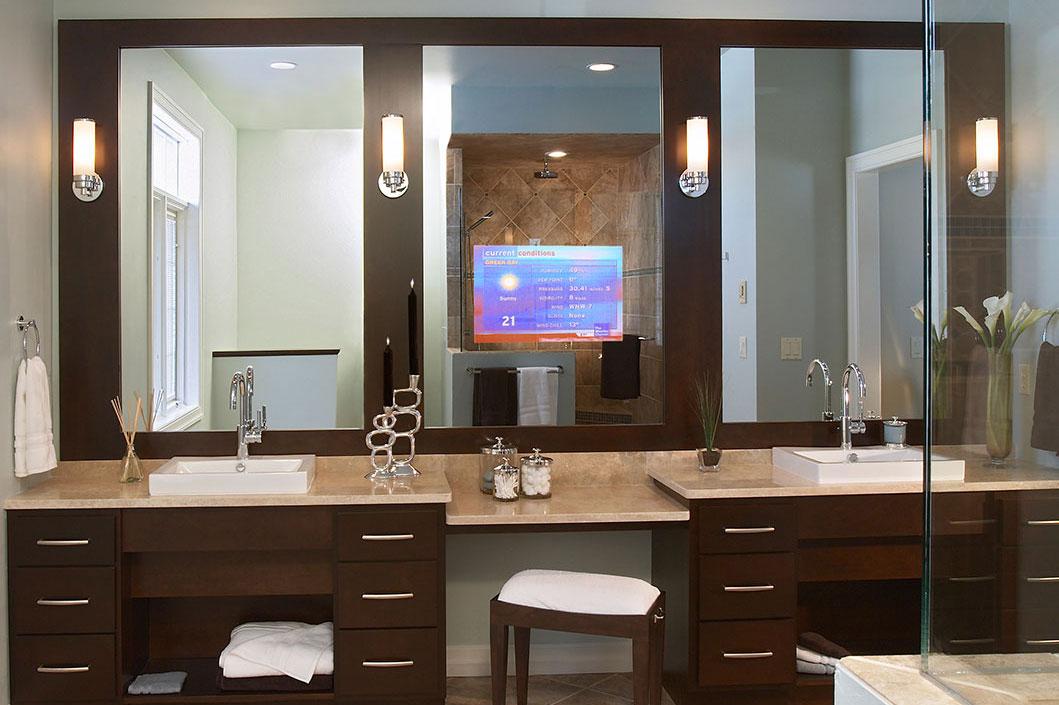 The Vanishing Vanity TV Mirror