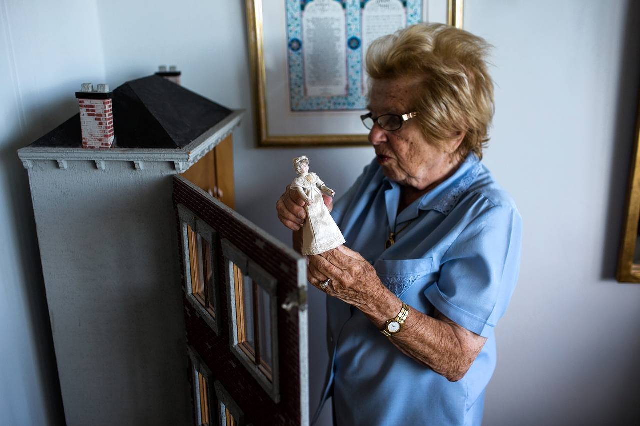 At age 10, Ruth Westheimer left a dollhouse behind when her family fled Nazi Germany. Today, at 88, s
