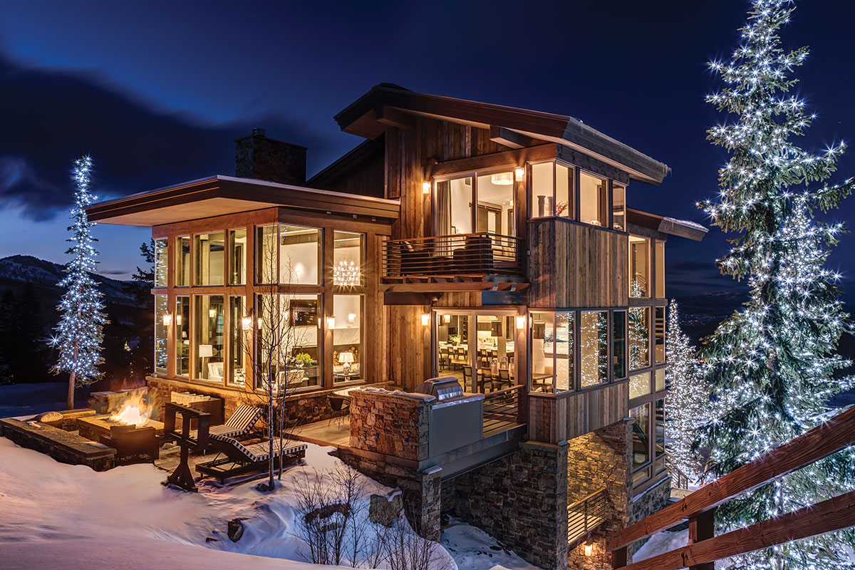 "Park City, Utah: ""Rustic"" is out, ""Mountain Modern"" is in. The few still-available Stein Eriksen Resi"