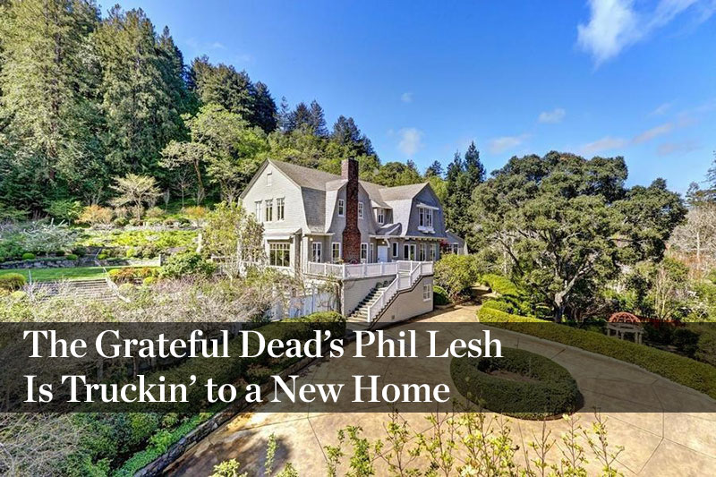 The Grateful Dead's Phil Lesh Is Truckin' to a New Home