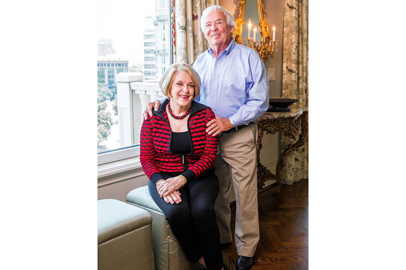 Judi and Dave Proctor are moving to Ventana by Buckner in Dallas when it opens in 2018.