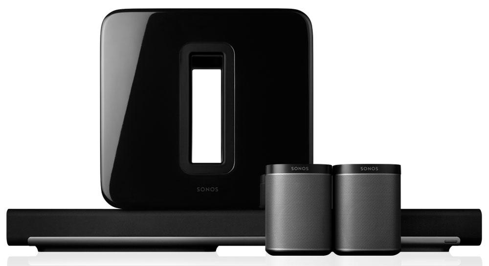 Wireless 5.1 Surround Sound Package