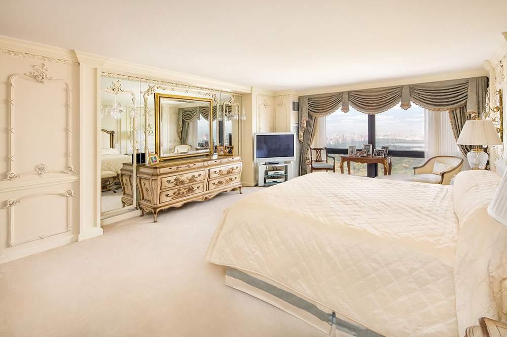 公寓共设四间卧室,图为卧室之一。(图片来源:DOLLY LENZ REAL ESTATE)