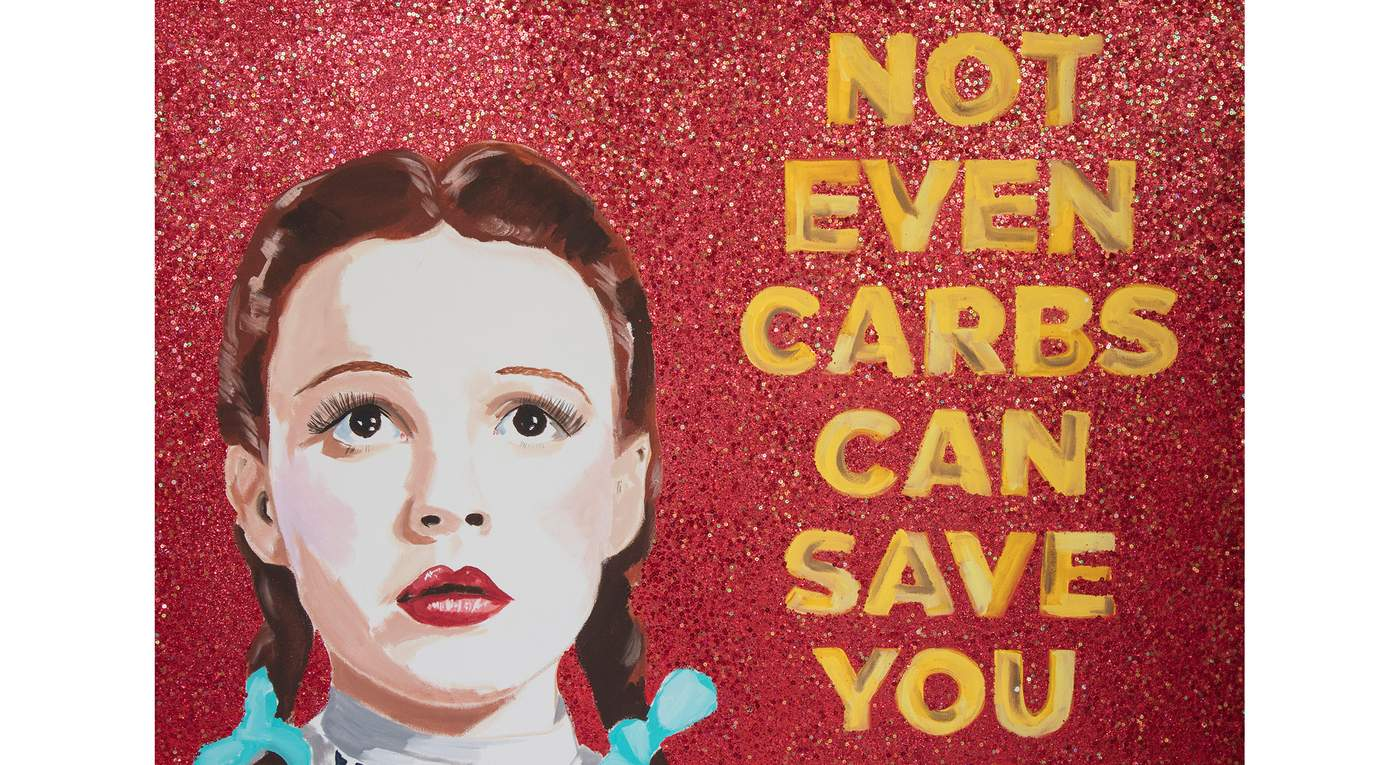 Not Even Carbs Can Save You Now by Ashley Longshore
