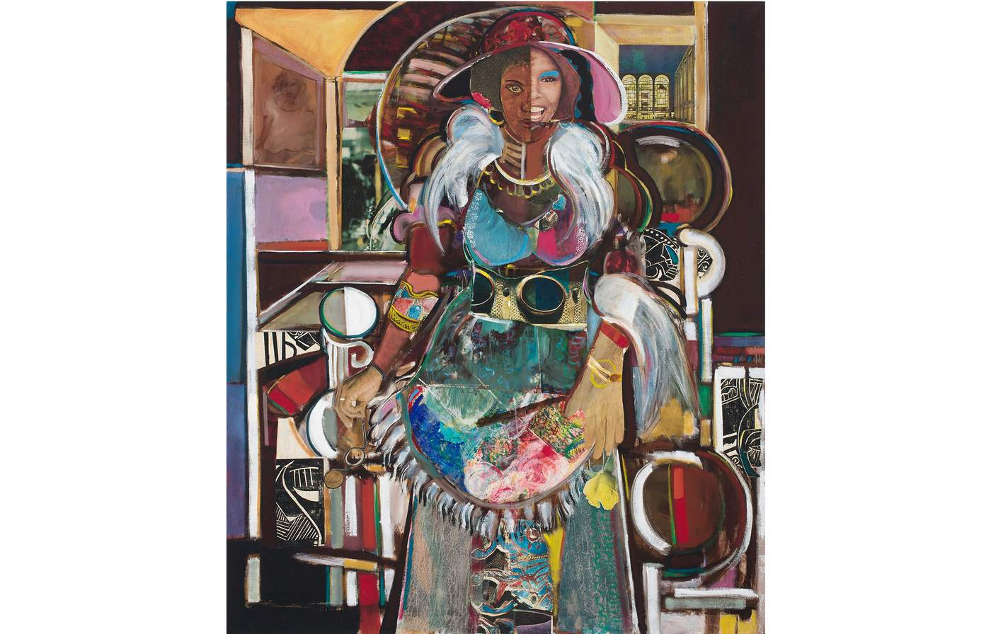 Jazz Singer Lady of Leisure by David Driskell