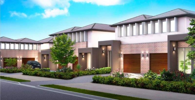 据经纪人Jiang介绍,这一地区同类房屋平均租金为每周700澳元,出租收益率在5%左右。图为别墅外观效果图。(图片来源:Kiki Jiang)