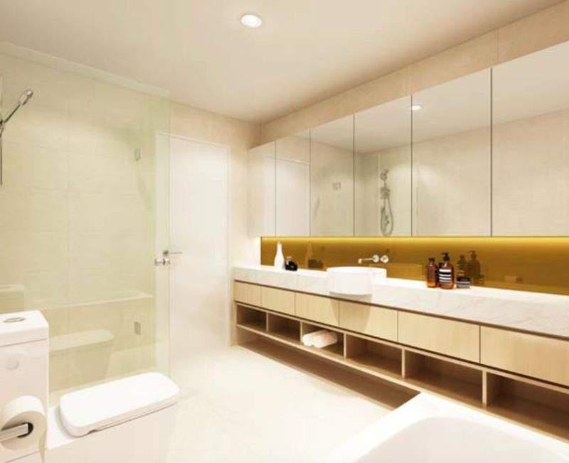 浴室效果图。(图片来源:Kiki Jiang)