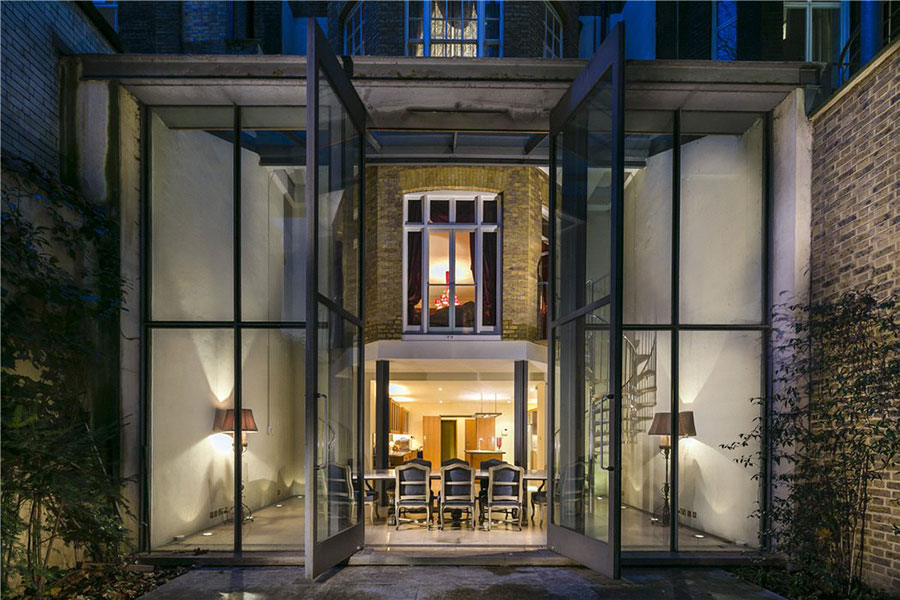 This four-bedroom house in Charles Street is £15 million.