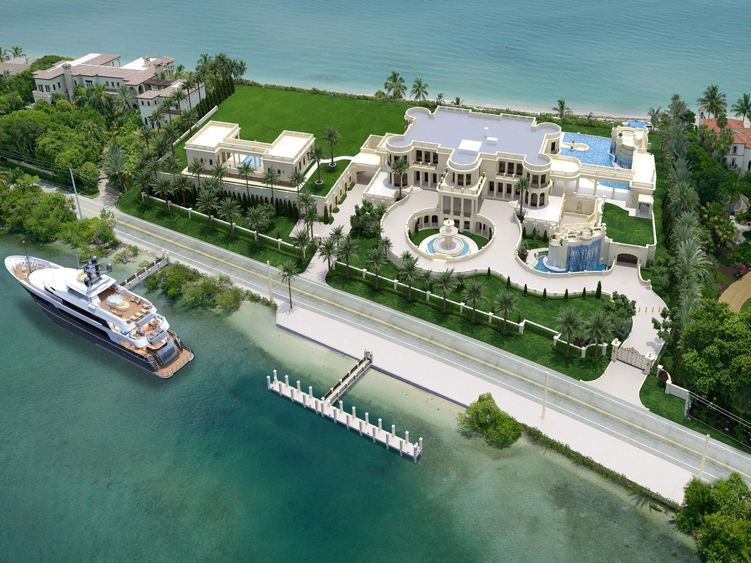 Most Expensive Homes In The World Five 100 Million Mansions For Sale Mansion Global