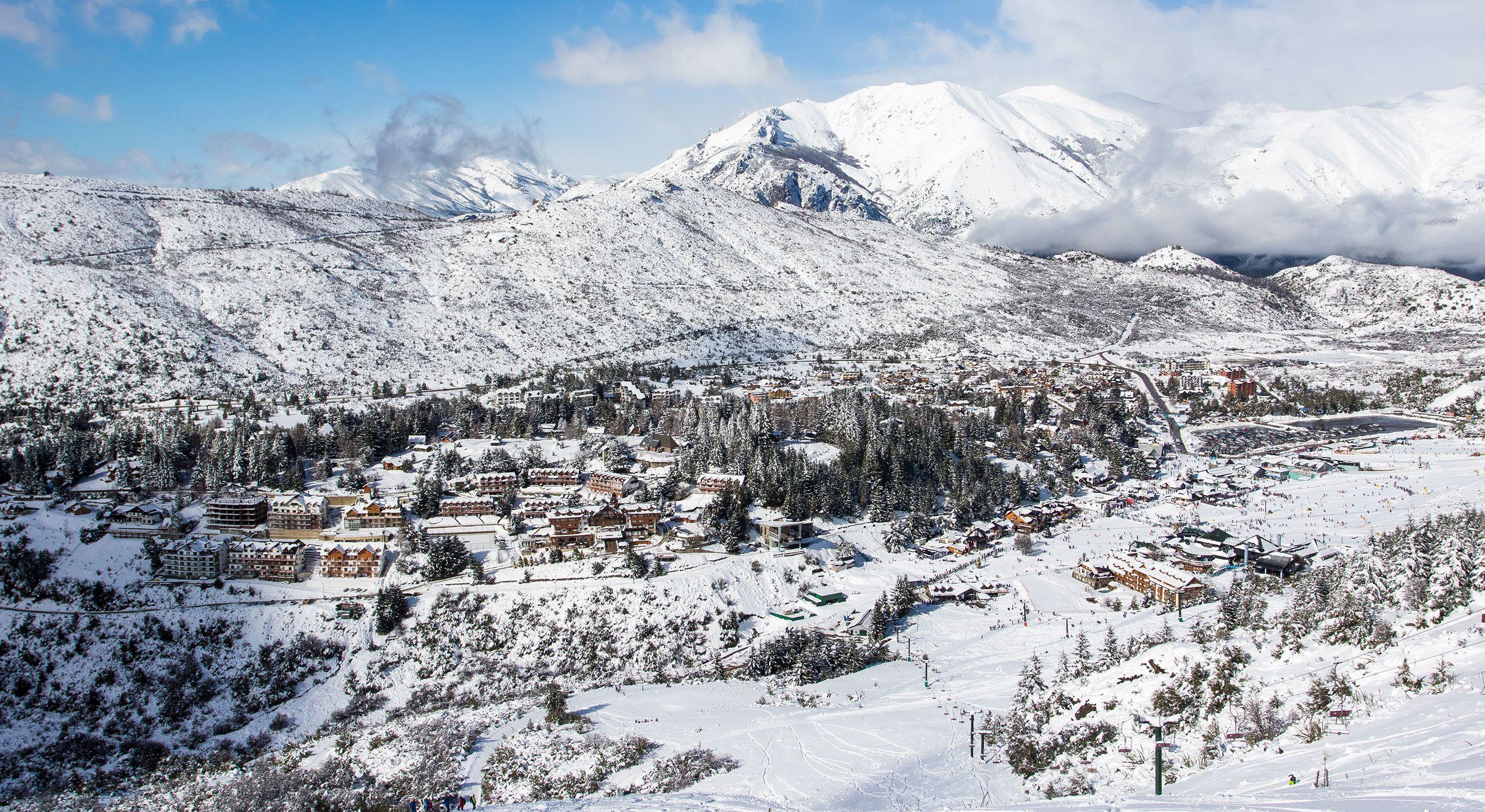 argentina's cerro catedral offers a truly unique ski resort