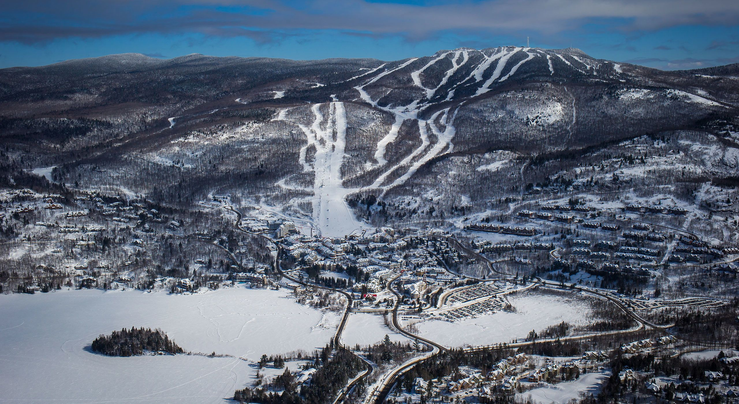 mont tremblant, quebec: where european charm & natural beauty unite