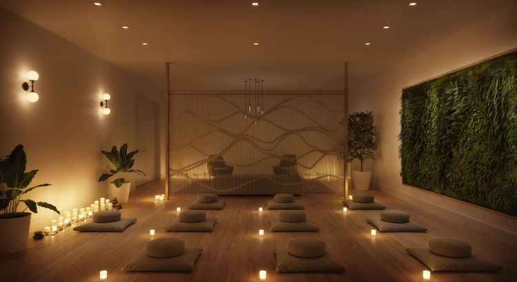 meditation room ideas near garden | Well-Being Facilities, Designs From Top Pros and Sky-High ...